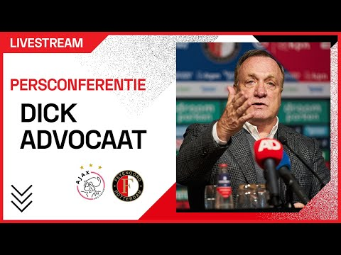 LIVE | Dick Advocaat blikt vooruit op de Klassieker! #AJAFEY