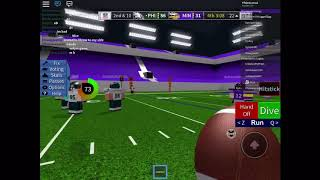 How to qb in legendary football on mobile | Roblox