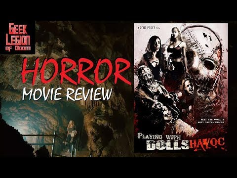 PLAYING WITH DOLLS : HAVOC ( 2017 Nicole Stark ) Slasher Horror Movie Review