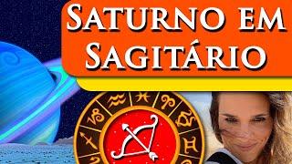 SATURNO EM SAGITÁRIO - POR PAULA PIRES