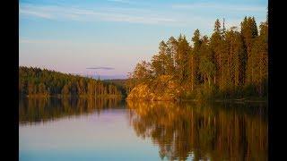 Походы в Карелии. Лесные озера. Рыбалка в Карелии