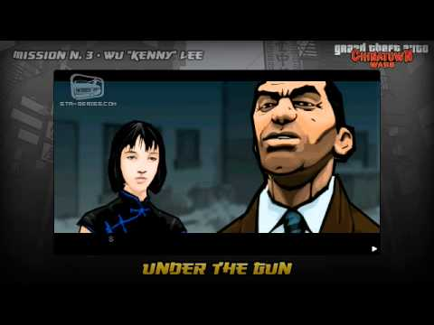 GTA Chinatown Wars - Walkthrough - Mission #3 - Under The Gun