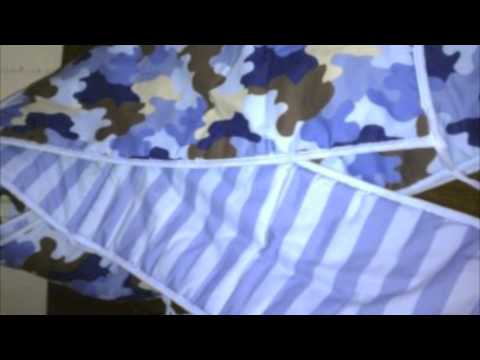 Camo Baby Bedding for Boys & Girls in Blue Or Pink Camouflage Crib Sets with Accessories