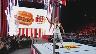 """Colonel Sanders"" conquers pretender chicken in honor of KFC's new Chicken Little Sandwich"