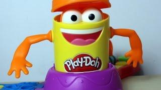 Play Doh Launch Game - Pan Pomarańczowy zjada Play-Doh!