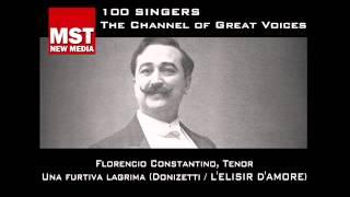 100 Singers - FLORENCIO CONSTANTINO