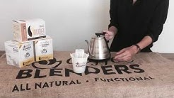 Coffee Blenders Pour-Over Drip Cup Demo