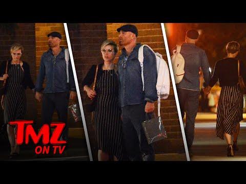 Scarlett Johansson: Date Night With Her Lawyer!