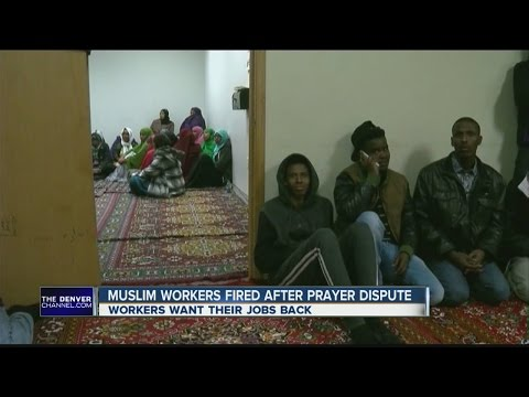 Muslim workers fired from meat plant hope to get jobs back