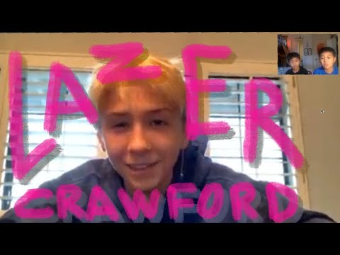 Interview with Lazer Crawford - Woodward, secret to hardflips, favorite cartoon, and more!!