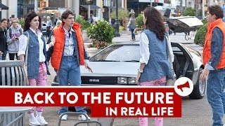 Repeat youtube video Back to the Future Twins Prank - Movies In Real Life (Episode 5)