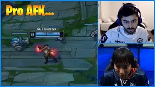 When Pro Player Went AFK in a Competitive Match...LoL Daily Moments Ep 866