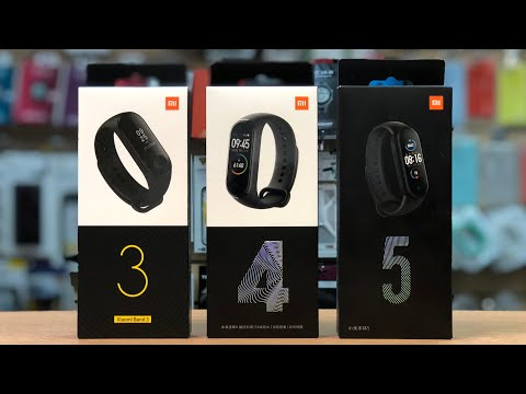 Умный фитнес браслет Xiaomi Mi Band 5 (BHR4236CN) - обзор и распаковка