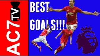 best premier league goals 2016 17