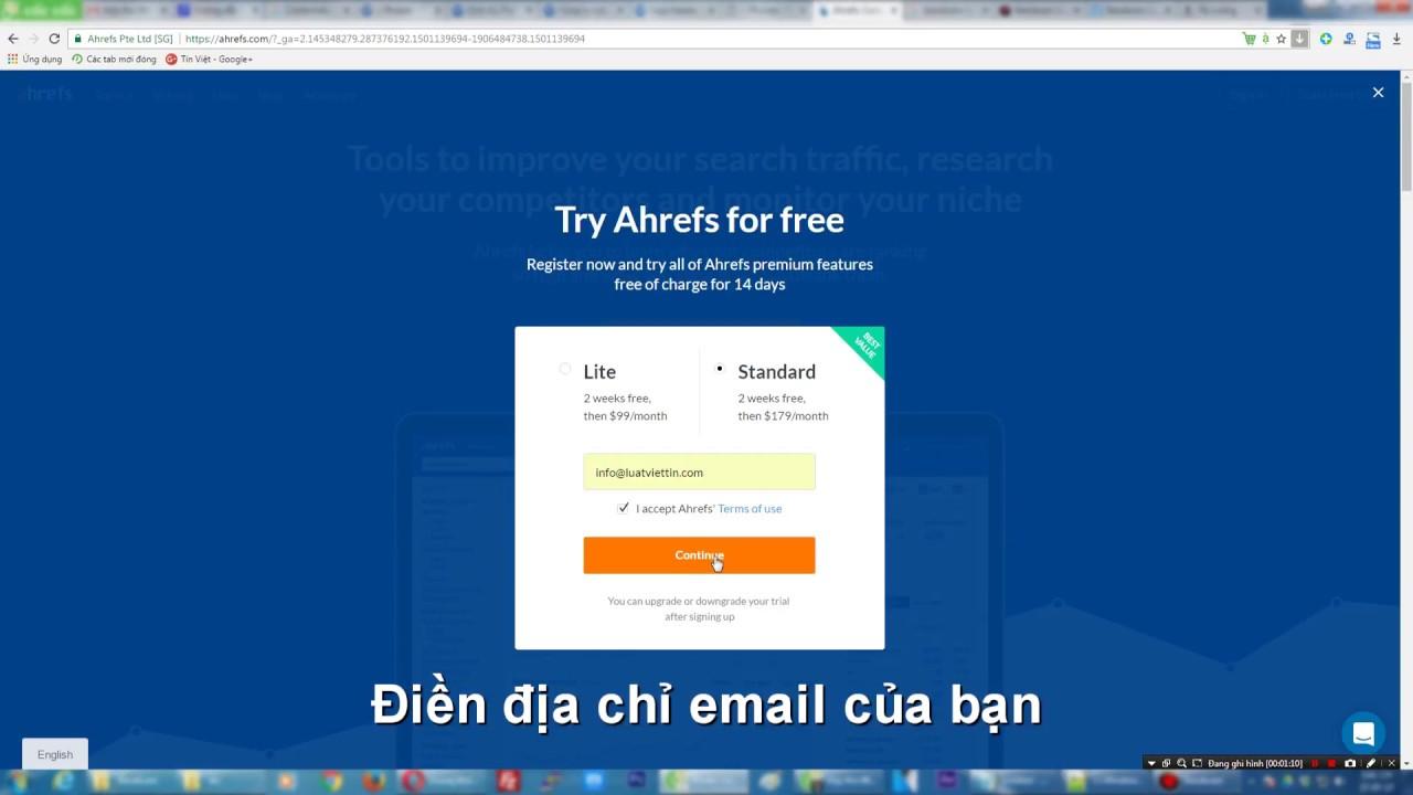 Ahrefs Free