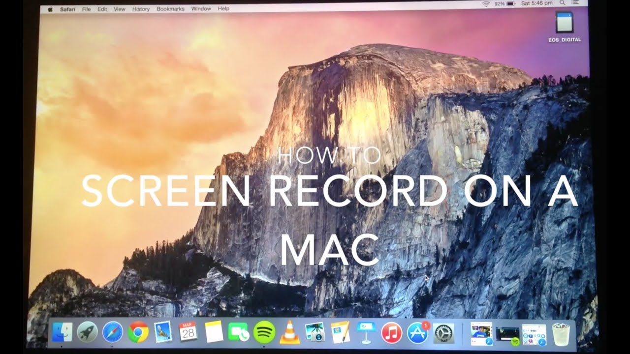 How to screen record on macbook yosemite 2015 youtube ccuart Gallery
