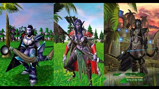 Warcraft III Reforged: Night Elf Units Comparison (2002 VS 2020)