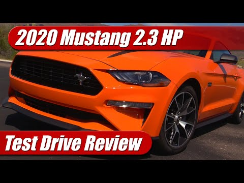 2020 Mustang 2.3 Ecoboost High Performance: Test Drive Review