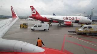 Air Berlin Boeing 737-700 HAM-STR Taxi to Gate Part 5/5