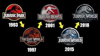 The Evolution of the Jurassic Park Logo