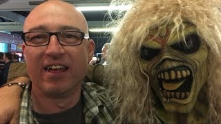 IRON MAIDEN Book of Souls Tour 2017 - NEWCASTLE FANS