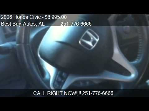 2006 Honda Civic Si 6-Spd with Navigation for sale in Mobile