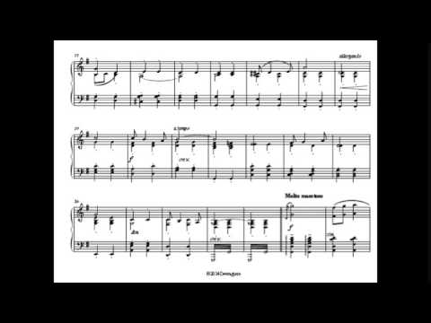 Pomp and circumstance piano sheet music youtube for Pomp and circumstance
