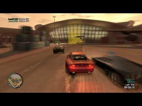 GTA IV PC - Social Club Multiplayer Event - Race