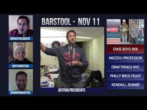 Barstool Rundown // November 11th 2015