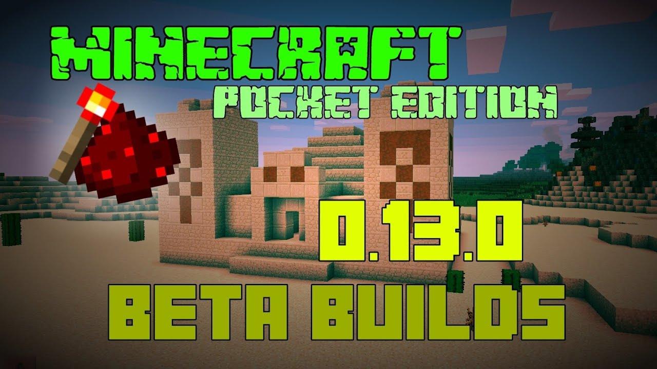 minecraft pe apk 0.13.0