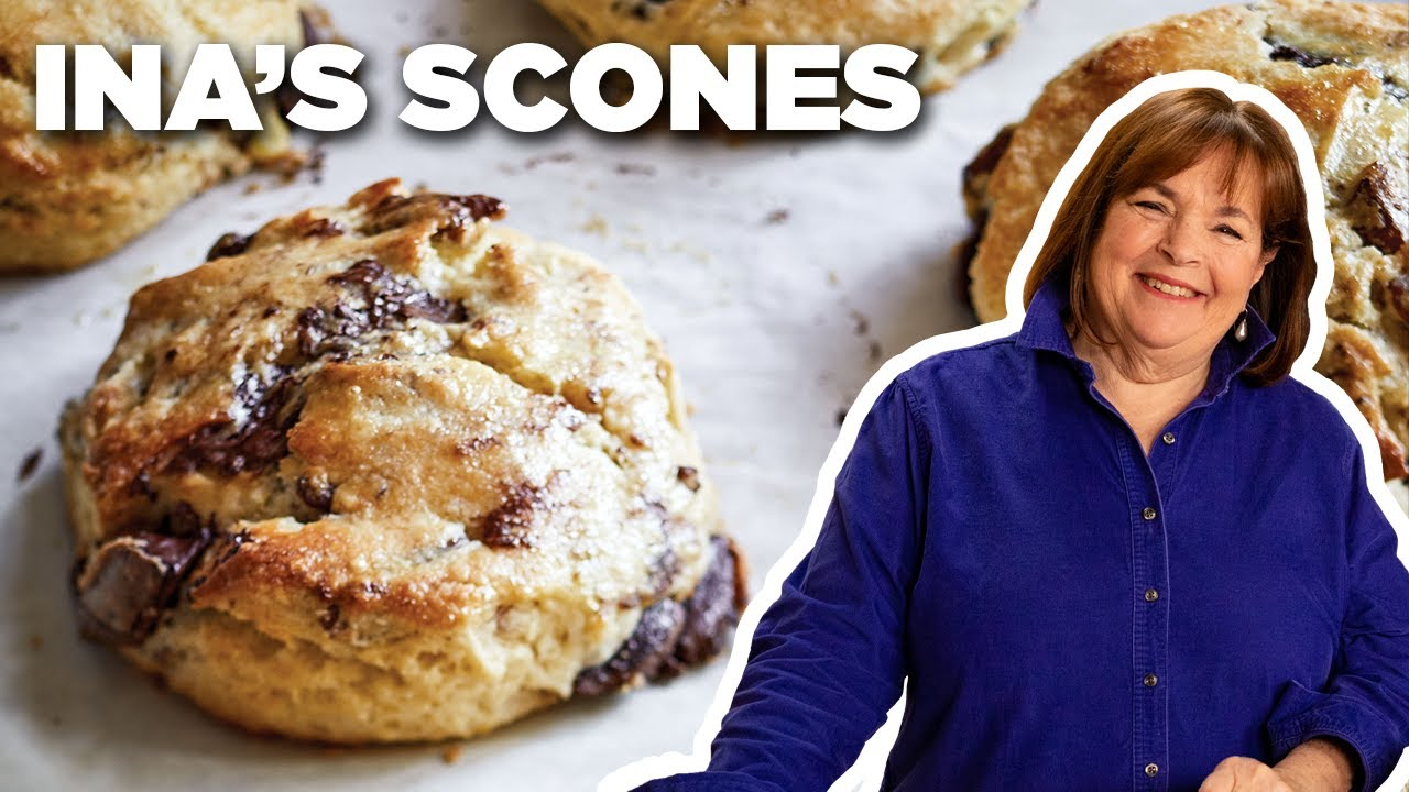 Ina Garten's Chocolate Pecan Scone Recipe | Food Network