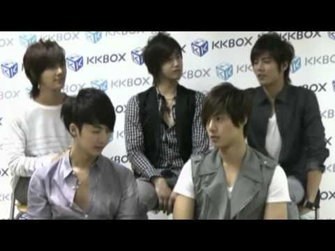 [Eng Sub CC] SS501 Interview on Taiwan's KKBOX