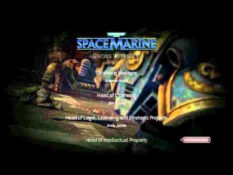 (Credits) Warhammer 40k: space marine
