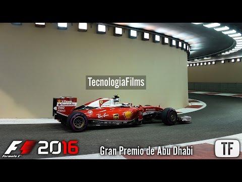 F1 2016 Online | SORDOS | Gran Premio de Abu Dhabi - 02/04/2017