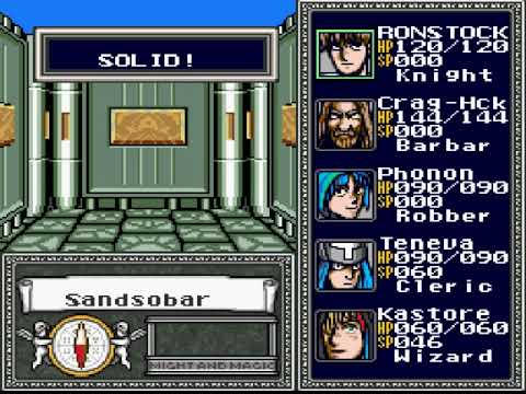 Let's Play - Might & Magic II SFC Japan - 5