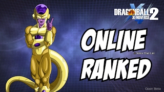Dragon Ball Xenoverse 2 golden Frieza Online ranked matches ( with limitations )