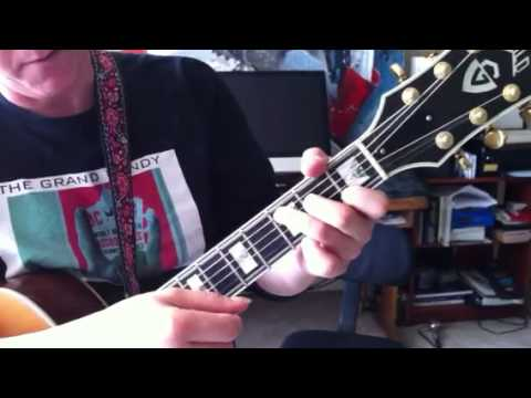 Guitar Lesson Muted Transitions On Whats So Funny Bout Peace