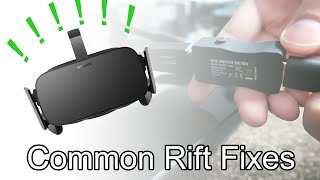 Common Oculus Rift issues and how to fix them