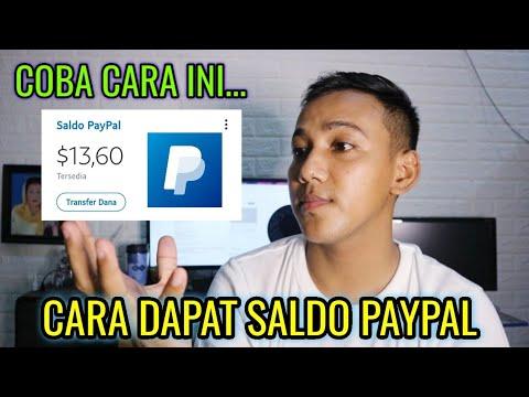 Cara mendapatkan saldo Paypal gratis mudah dan cepat silahkan ikuti cara ini dijamin Work dan inilah.