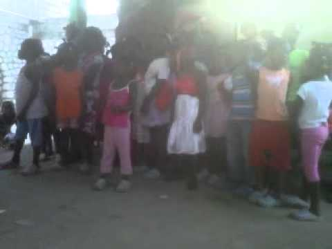 The Kids Singing in Creole