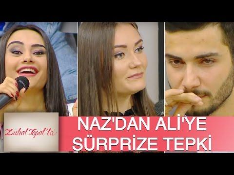 Zuhal Topal'la 111. Bölüm (HD) | Angelina'nın Ali'ye Doğum Günü Sürprizine Naz'dan Büyük Tepki!