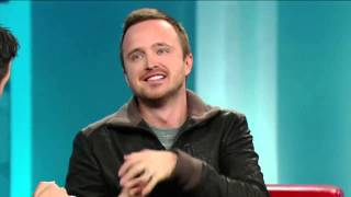 Aaron Paul on George Stroumboulopoulos Tonight: INTERVIEW