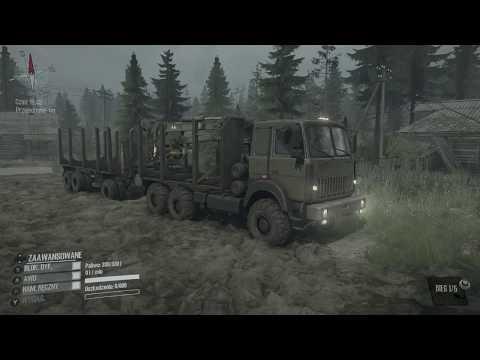 Xbox One . Spintires: MudRunner - The Valley DLC ! Maz 6317 ! Dolina ! Transport Drewna !