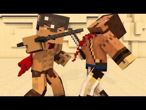 """300"" - Amazing Minecraft Animation PARODY!"