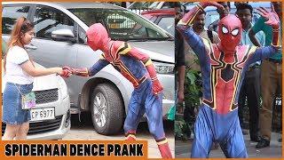 Spiderman Dance In Public Prank| Funky Joker