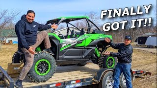 We got a Kawasaki KRX 1000! Rips, jumps, review, and LAP BATTLE!