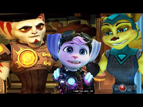 All The Lombaxes Ratchet Has Ever Met – Ratchet & Clank: Rift Apart PS5 2021