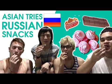 ASIAN TRIES RUSSIAN SNACKS  in the Philippines