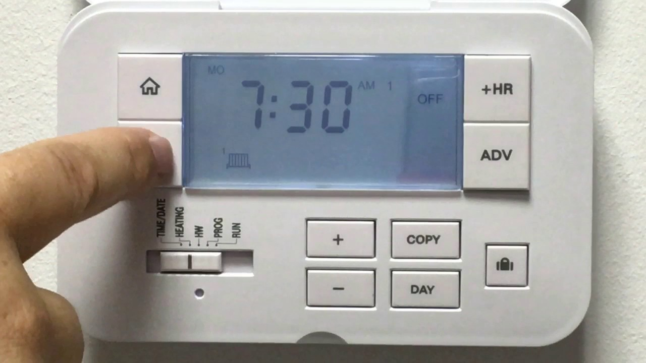ESi Controls ES3247B 3 Channel Programmer: how to set your heating ...