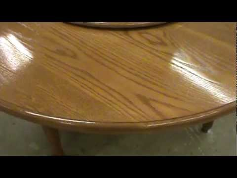 ANTIQUE FURNITURE REPAIR LLC Water Damage Dining Room Table Top 2 Of